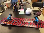 speeddemons SKATEBOARD leopard print